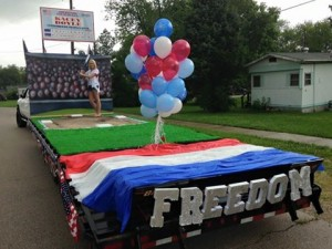 2015 Crawford County Fair FLoat